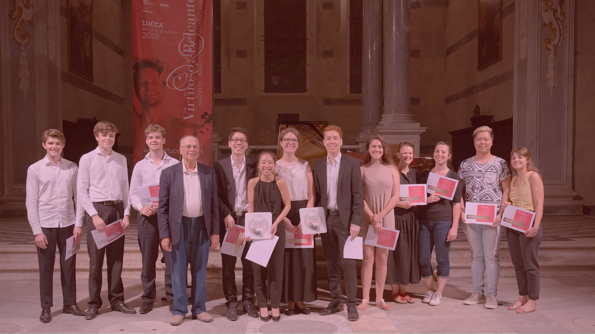 the winners of 2019 chamber orchestra competition